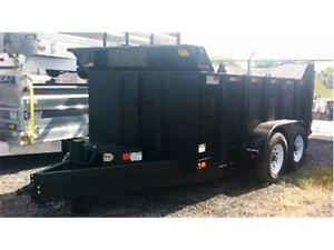 "48"" SIDE 7 TON DUMP TRAILER - IDEAL FOR ROOFING OR FIREWOOD"