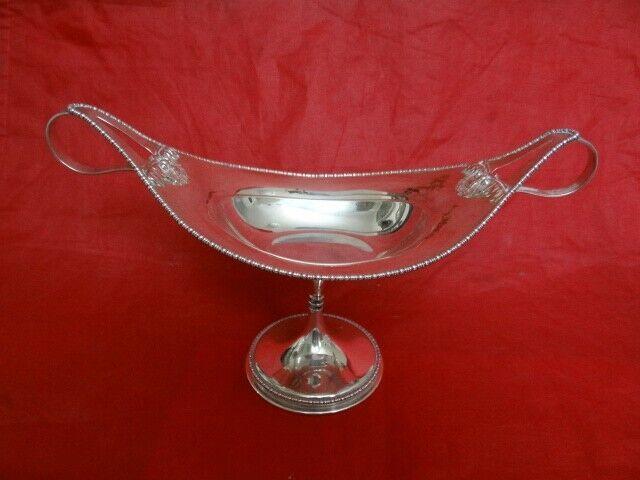 Fine Antique James Dixon & Sons Sheffield Sterling Silver Ornate Pedestal Taza