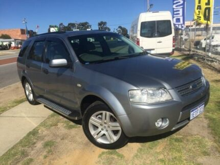 2005 Ford Territory SX Ghia Silver 4 Speed Sports Automatic Wagon Wangara Wanneroo Area Preview