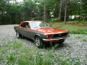 Affordable fun! - 1968 Mustang coupe