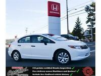 2012 Honda Civic DX, Power Windows, Great mileage !!
