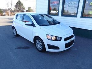 2016 Chevrolet Sonic LT HB for only $116 bi-weekly all in!