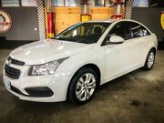 2015 Holden Cruze JH MY15 Equipe White 6 Speed Automatic Sedan Fyshwick South Canberra Preview