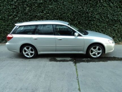 2003 Subaru Liberty B4 My04 Luxury Awd Silver 4 Sd Sports Automatic Wagon