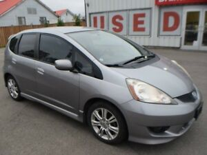 2009 Honda Fit Sport 4dr Front-wheel Drive Hatchback