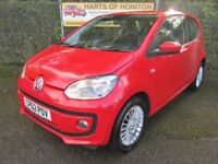 Volkswagen Up 1.0 High Up 3dr (red) 2013