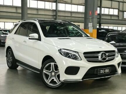 2015 Mercedes-Benz GLE350 W166 d Wagon 5dr 9G-TRONIC 9sp 4MATIC 3.0DT [Jul] White Sports Automatic Port Melbourne Port Phillip Preview