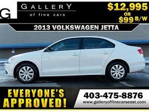 2013 Volkswagen Jetta Trendline $99 bi-weekly APPLY NOW DRIVE NO