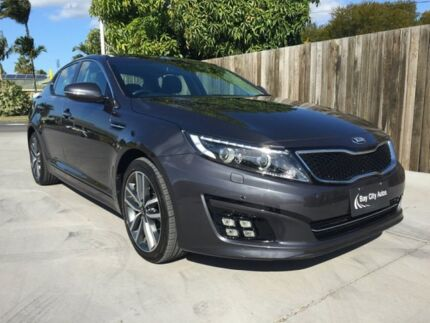 2013 Kia Optima TF MY14 Platinum Grey 6 Speed Automatic Sedan Pialba Fraser Coast Preview