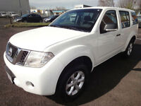 LHD 2011 Nissan Pathfinder 2.5DCI 4x4 190BHP 6 Speed Manual SPANISH REGISTERED