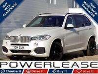 2014 14 BMW X5 3.0 XDRIVE40D M SPORT 5D AUTO 309 BHP DIESEL