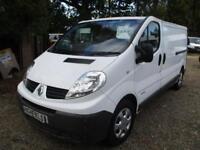 2014 Renault Trafic 2.0dCi NO VAT LWB LL29dCi 115 70000 MILES GUARANTEED
