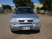 2003 Mitsubishi Pajero NP MY04 Exceed Silver 5 Speed Sports Automatic Wagon Beverley Charles Sturt Area Preview