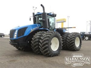2014 NH T9.530 HD Tractor - 517 hp, Powershift, 271 hrs 0%-12 MO