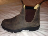 Blundstone 585 - SIZE 5 1/2 The Leather Lined in Rustic Brown UNISEX