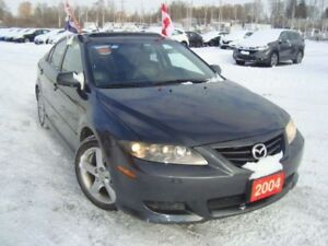 2004 Mazda MAZDA6 6S GT Only 66km Leather & Sunroof