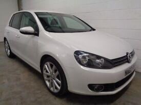 VOLKSWAGEN GOLF GT DIESEL , 2010/60 REG **42000 MILES + HISTORY , LONG MOT , FINANCE , WARRANTY