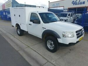 2007 Ford Ranger PJ 07 Upgrade XL (4x4) White 5 Speed Manual Cab Chassis Dandenong Greater Dandenong Preview
