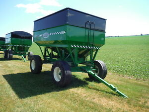 Brand New Bruns 400 Bushel Gravity Boxes, 14 Ton Horst, 425 Tire