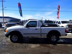 2001 FORD RANGER XL LONG BED 4WD
