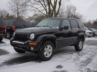 2002 Jeep Liberty SUV, Limited Editon Fully loaded 6 CD changers