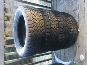 Four SnowTracker 205/55R16 Winter Tires
