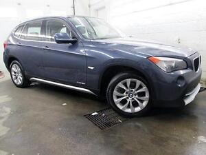 2012 BMW X1 NAVIGATION CUIR TOIT PANOR. xDRIVE 93,000KM