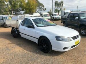 2007 Ford Falcon BF Mk II XL Super Cab White 4 Speed Automatic Cab Chassis Minchinbury Blacktown Area Preview