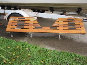 swim platform for power boat