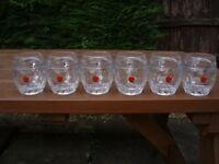 REKORDERLIG ~WINTER CIDER~ half pint tankards ( 6 GLASSES ) NEW !!!