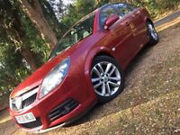2008 VAUXHALL VECTRA SRI CDTI 150 A RED AUTO