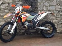 Ktm 125 road registered/200 exc enduro 2010 swap px