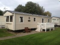 Cheap 3 bed caravan on Talacre Beach 5*Park in north wales