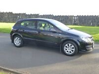 2007 VAUXHALL ASTRA 1.4 CLUB ONLY 75000 MILES