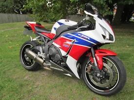 Honda CBR 1000 RA-E FIREBLADE SUPER SPORTS MOTORCYCLE