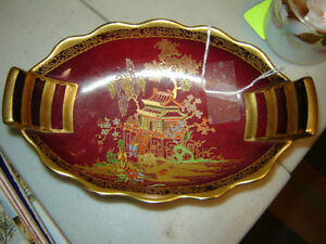 Carlton Ware Rouge Royale dish AntiqueLee