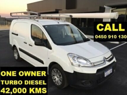 2015 Citroen Berlingo B9C MY15 1.6 HDI Long White 5 Speed Manual Van