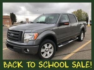 2010 Ford F-150 FX4 4x4 Supercrew **LEATHER-SUNROOF!!**