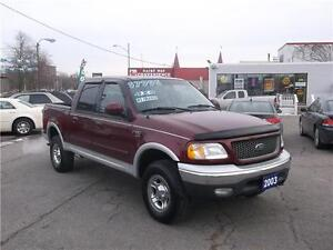 2003 FORD F-150 LARIAT *** 4X4 *** LEATHER *** LOADED ***