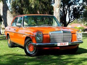 1975 Mercedes-Benz 280E W114 Orange 4 Speed Automatic Sedan Myaree Melville Area Preview