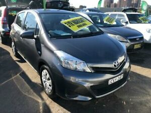 2013 Toyota Yaris NCP130R YR Charcoal Automatic Hatchback Lidcombe Auburn Area Preview