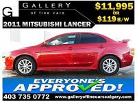 2011 Mitsubishi Lancer SE $119 BI-WEEKLY APPLY NOW DRIVE NOW