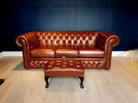 Chesterfield Sofa Vintage Leather