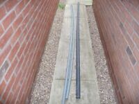 Plastic waste piping 40mm x 3m and 50mm x 3m - set of 3 - NEW just not needed - must see - Bargain for sale  Uttoxeter, Staffordshire