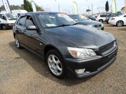 1999 Lexus IS200 10R SPORTS LUXURYGXE Grey 4 SP AUTOMATIC Sedan