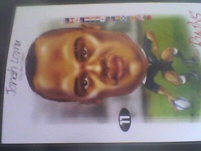 JONAH LOMU 1999 RUGBY WORLD CUP PICTURE x5-free post