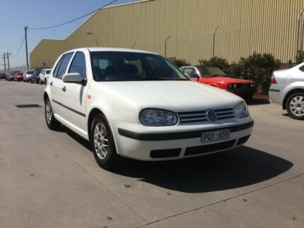 1999 Volkswagen Golf GLE White 4 Speed Automatic Hatchback Spotswood Hobsons Bay Area Preview