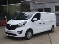 Vauxhall Vivaro 2900 1.6Cdti 120Ps Sportive H1 Van DIESEL MANUAL WHITE (2017)