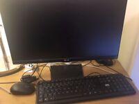 Sell Monitor LG - 23MP75HM-P + keyboard