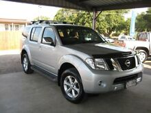 2011 Nissan Pathfinder R51 MY10 ST-L Silver 5 Speed Automatic Wagon Woodend Ipswich City Preview